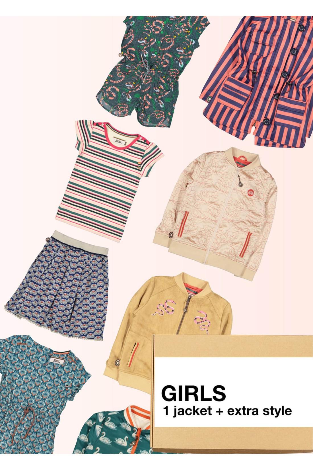 Surprise Box Girl - Summer Jacket + Extra Style