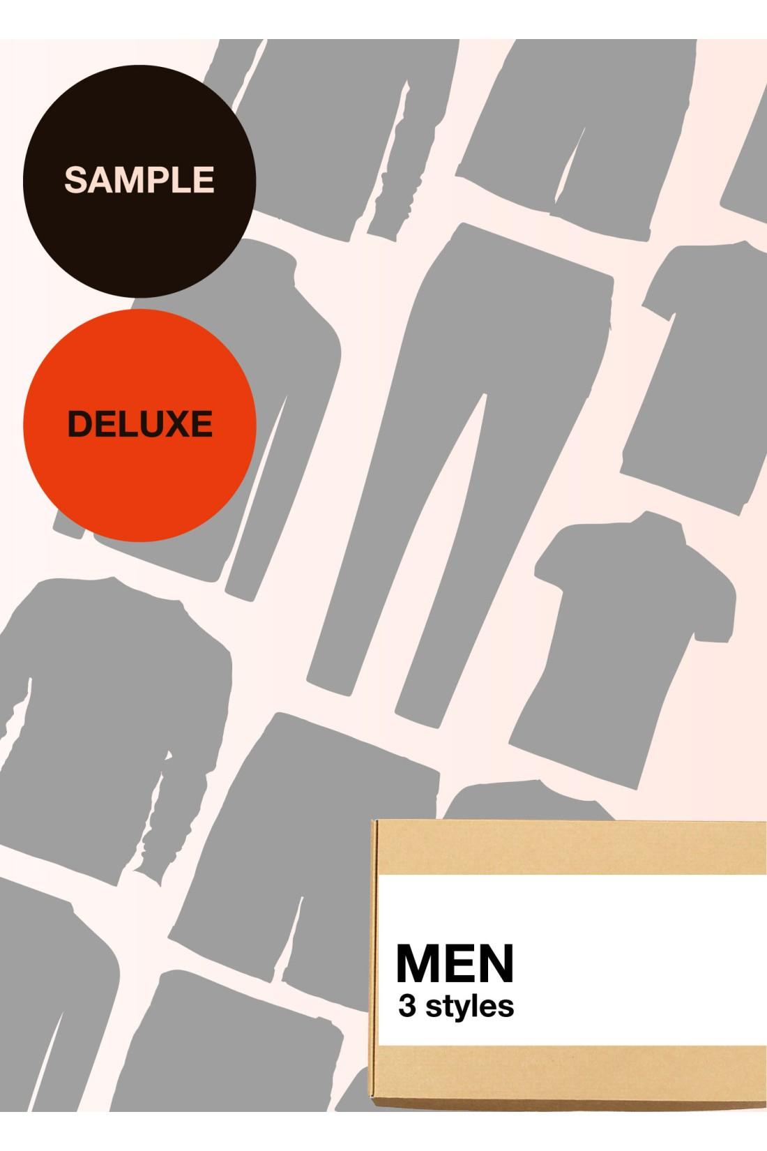 Sample Surprise Box Men Deluxe - 3 Styles