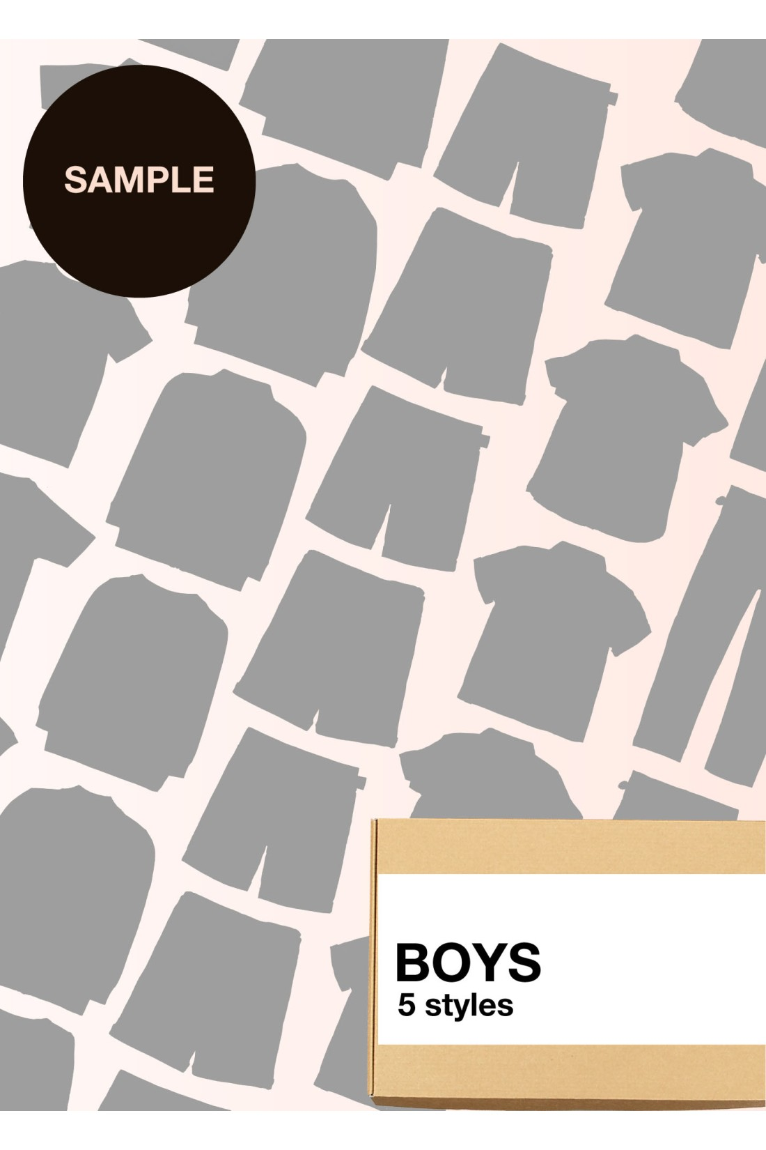 Sample Surprise Box Boys - 5 Styles