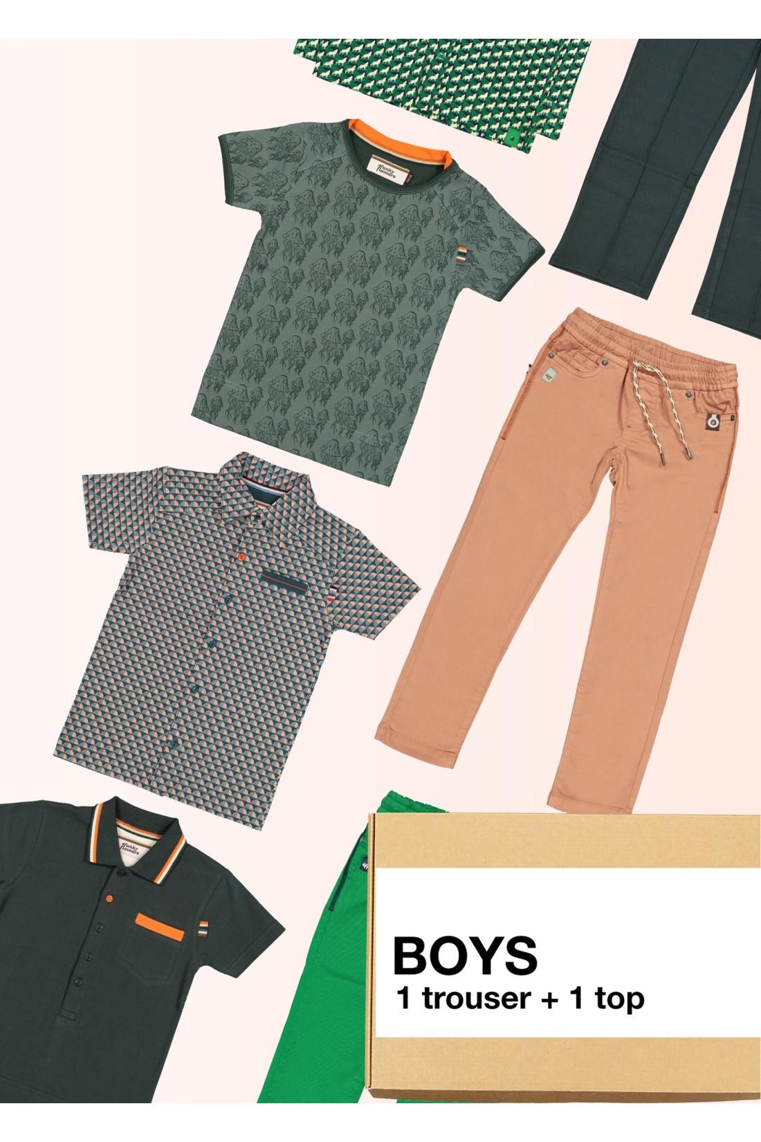 Surprise Box Boy - 2 Styles - Trousers Long + Top