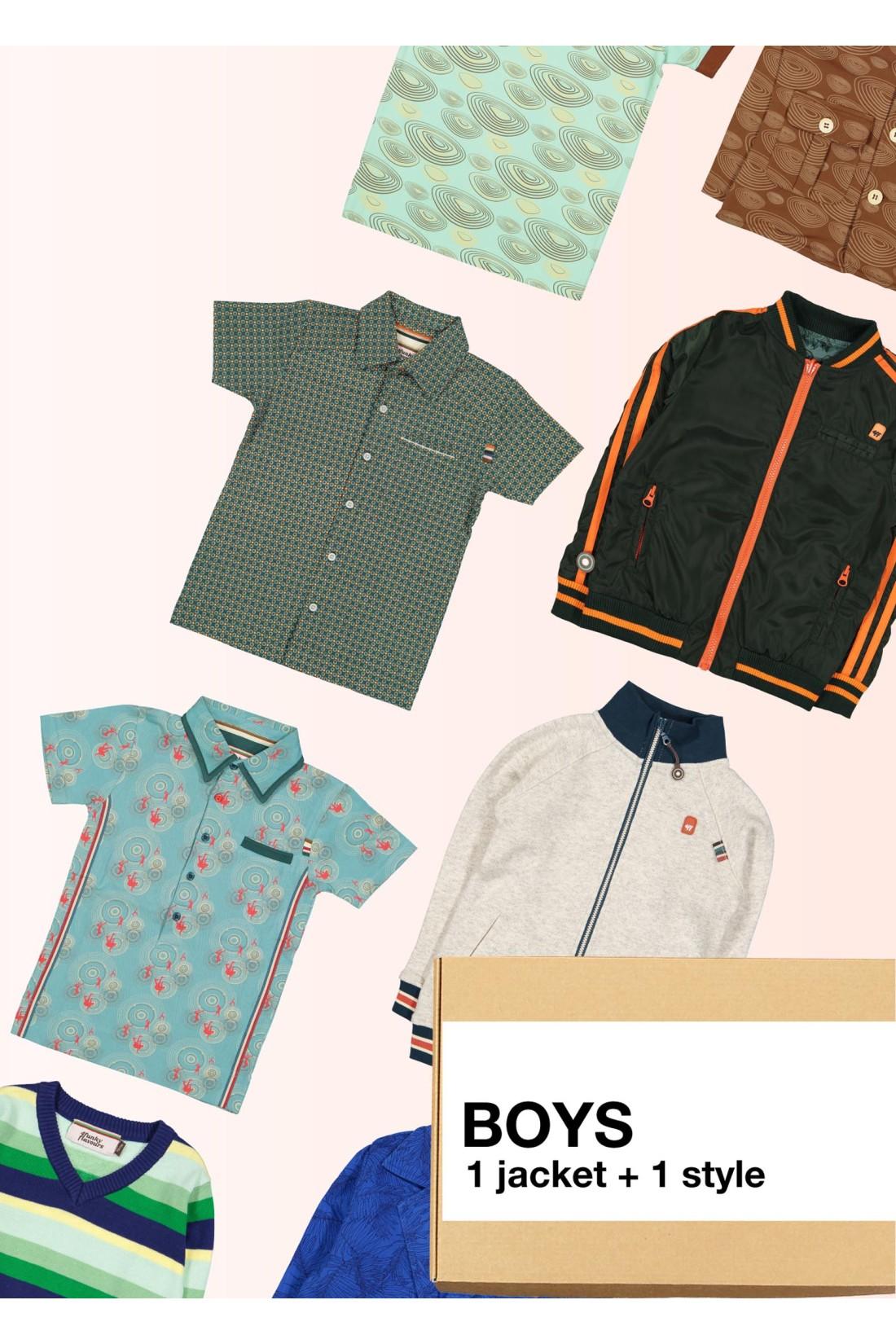 Surprise Box Boy - 2 Styles - Jacket + Extra Style