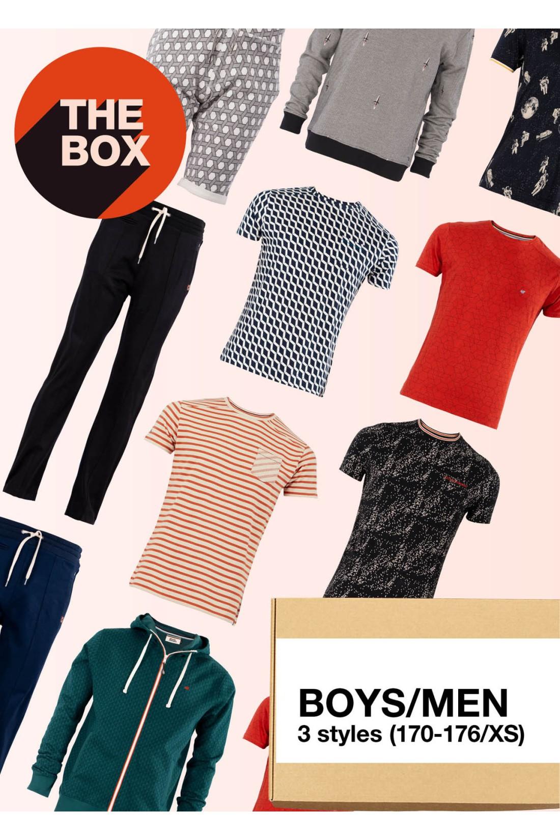 Surprise Box Men - THE BOX - 3 Styles XS - 170/176
