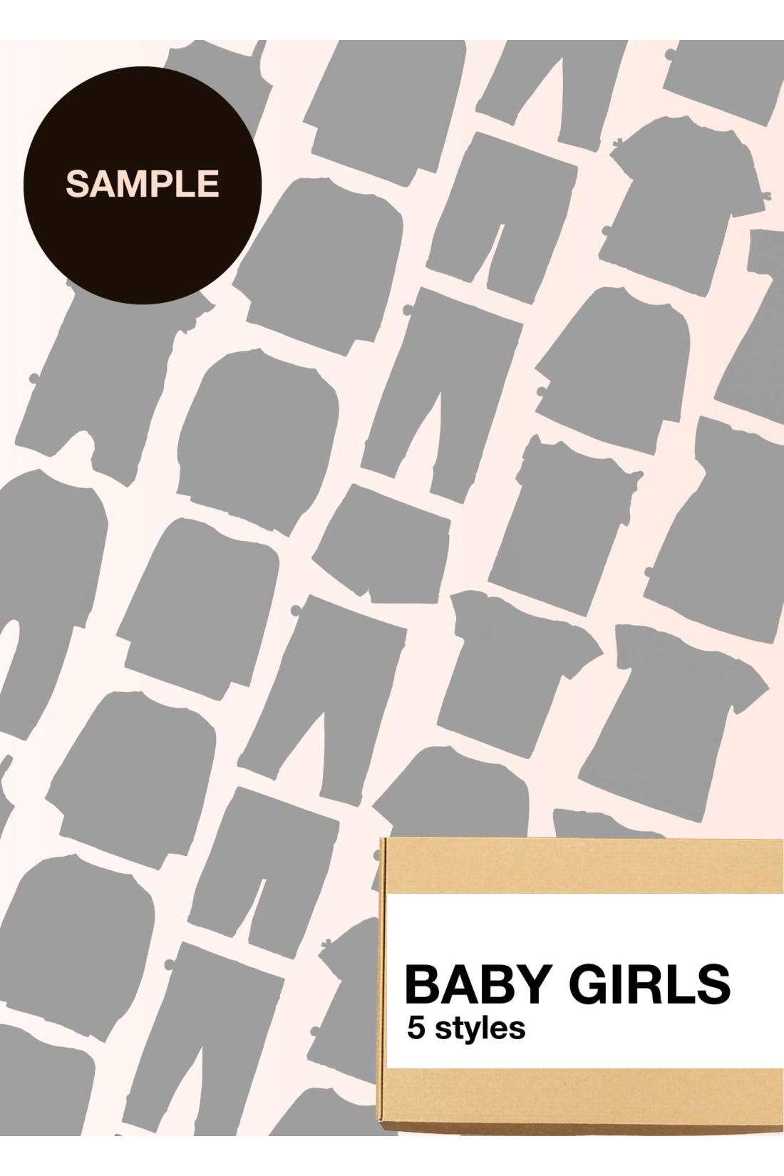 Sample Surprise Box Baby Girl - 5 Styles