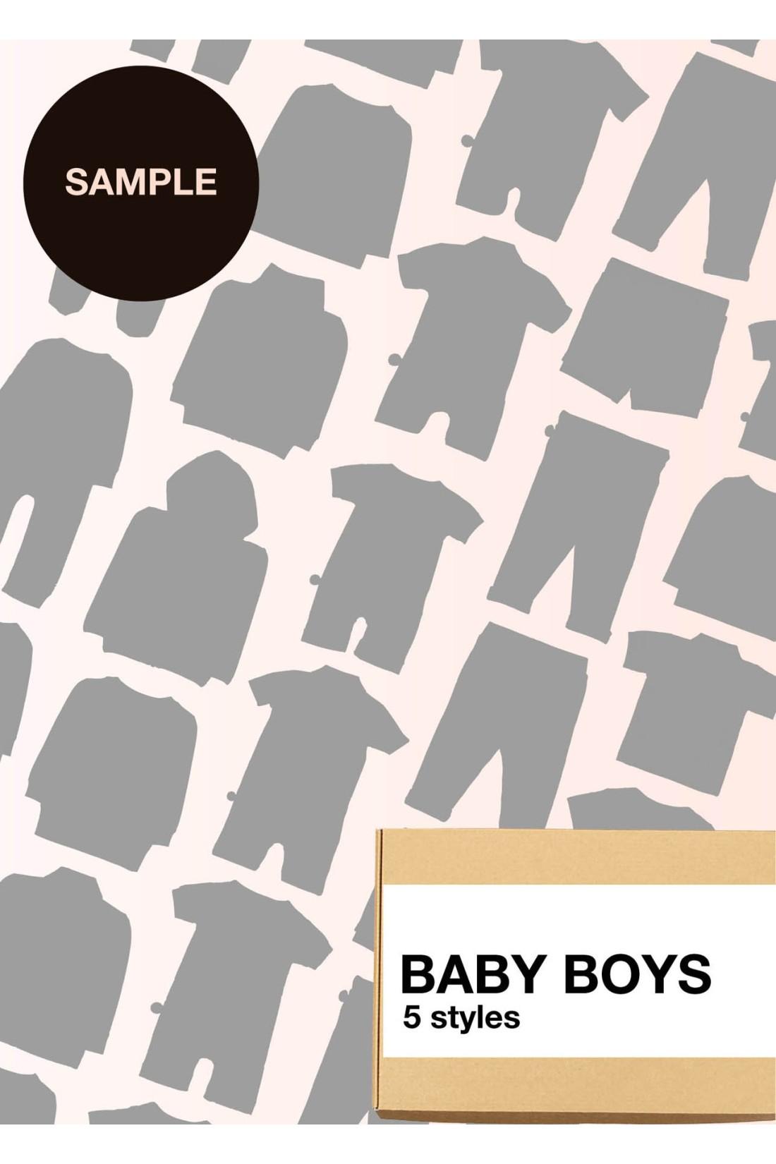 Sample Surprise Box Baby Boy - 5 Styles
