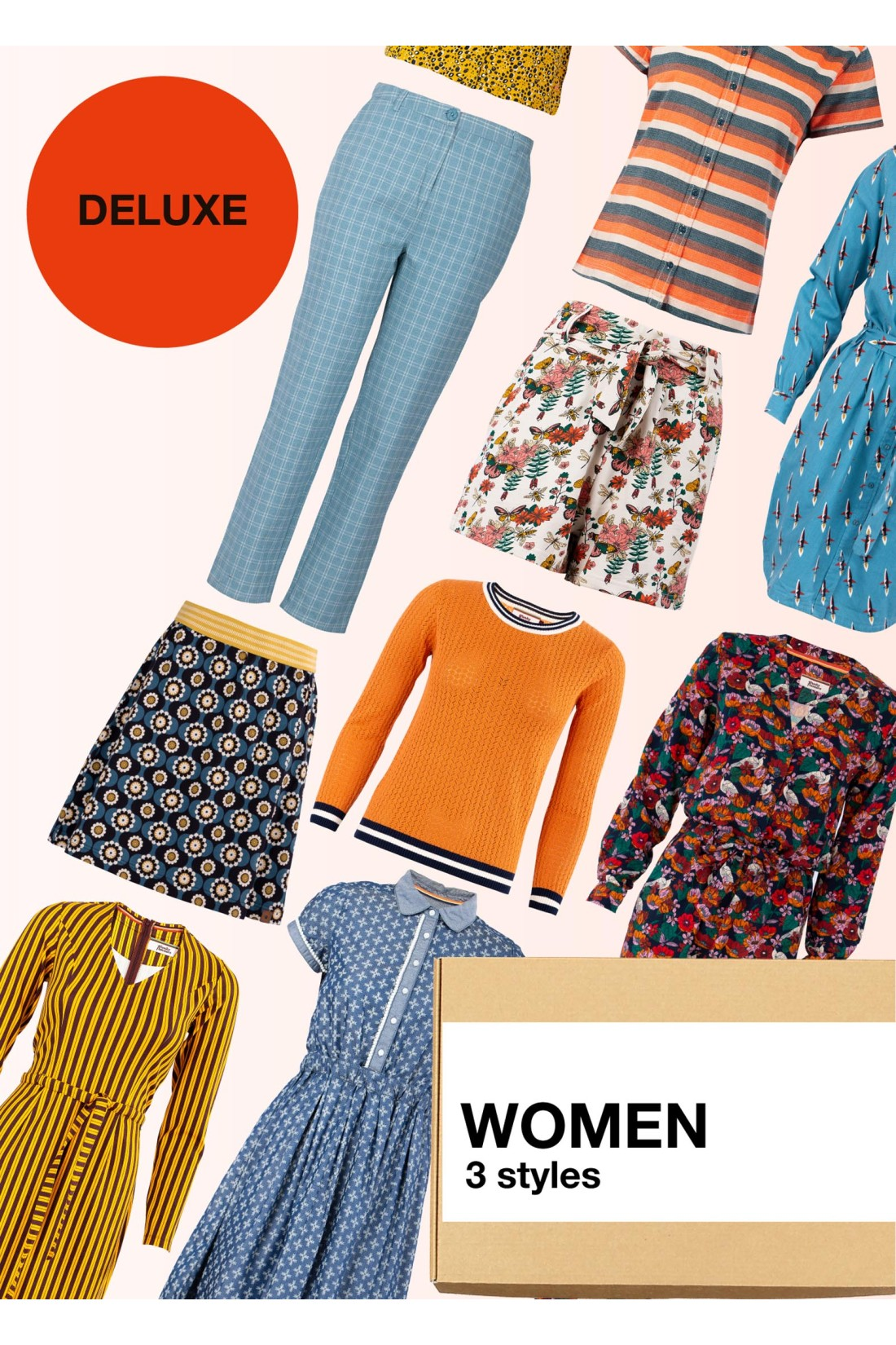 Surprise Box Women - 3 Styles Deluxe