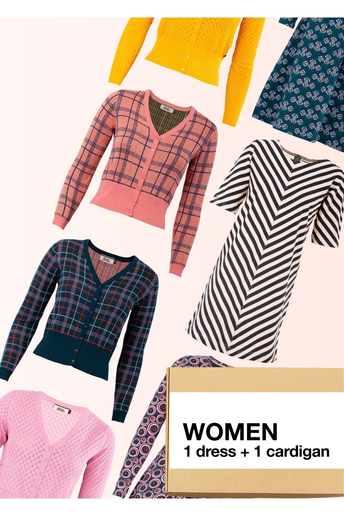 Surprise Box Women - Dress + Cardigan