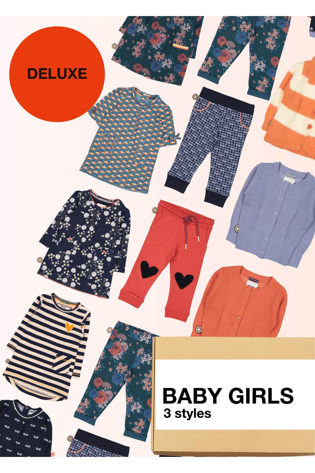 Surprise Box Baby Girls Matching Deluxe - 3 Styles