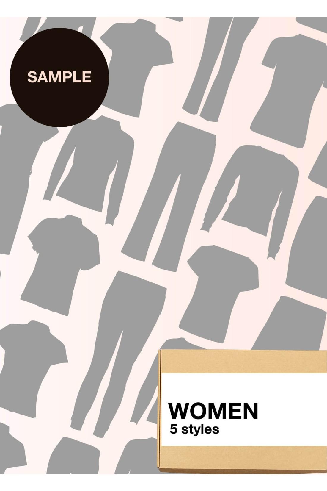 Sample Surprise Box Women - 5 Styles