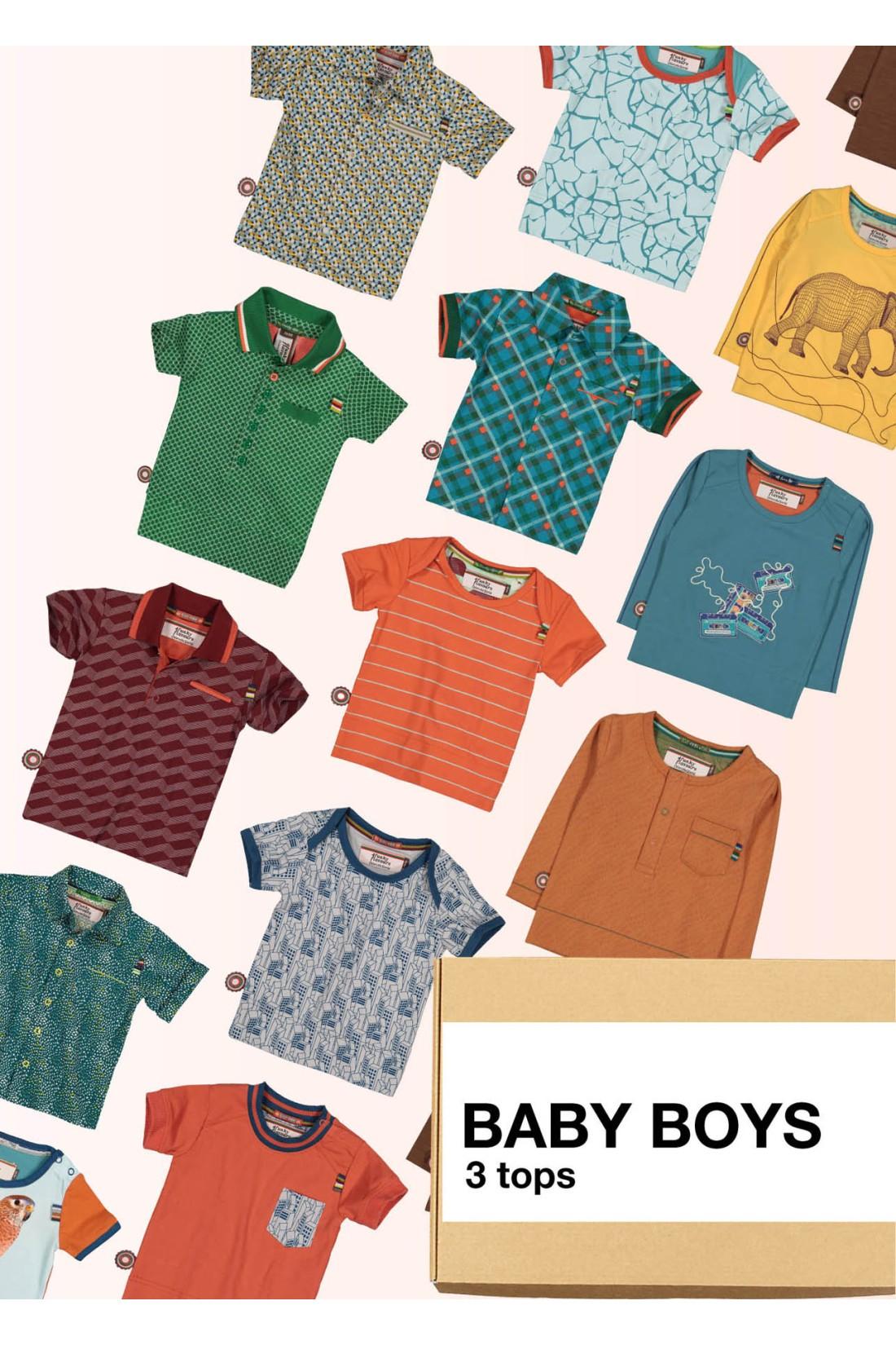 Surprise Box Baby Boy - 3 Tops