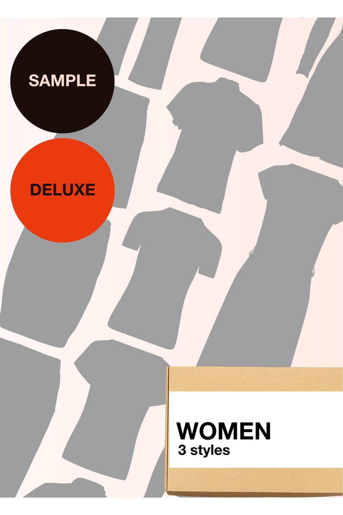 Sample Surprise Box Women Deluxe - 3 Styles