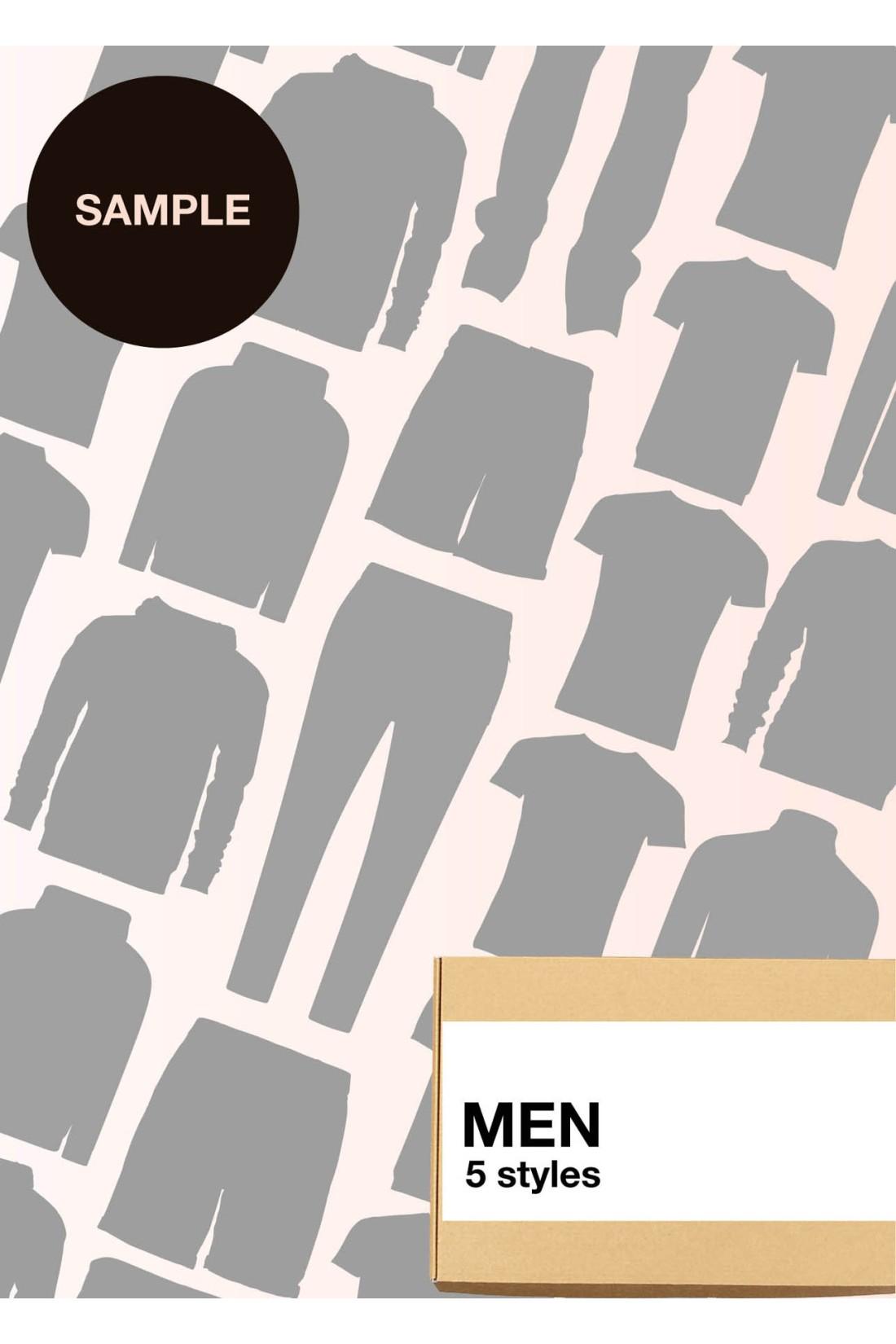 Sample Surprise Box Men - 5 Styles