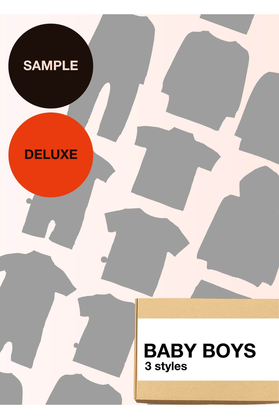Sample Surprise Box Baby Boy Deluxe - 3 Styles