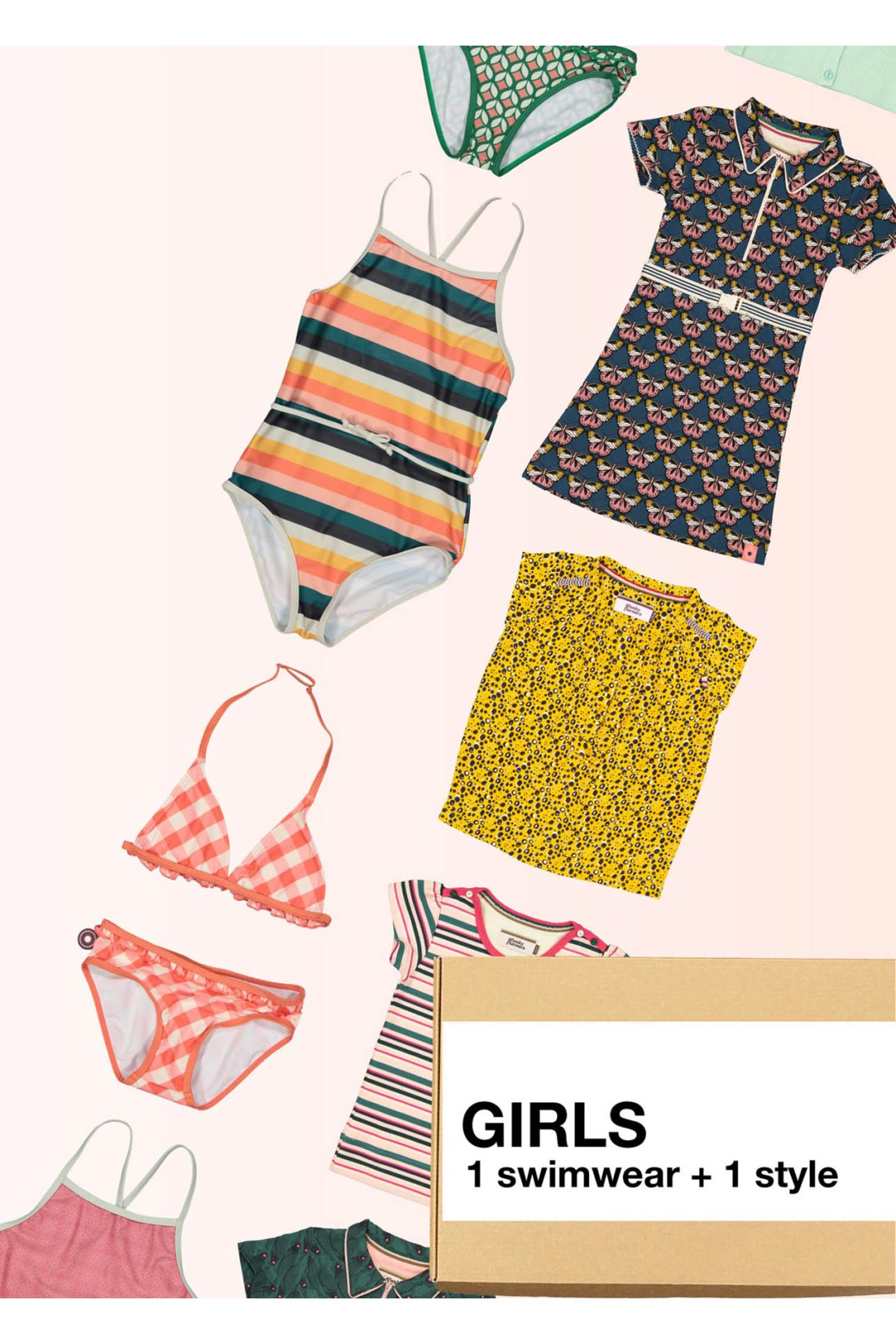 Surprise Box Girl - Summer Holiday Box - Swimwear + Extra Style