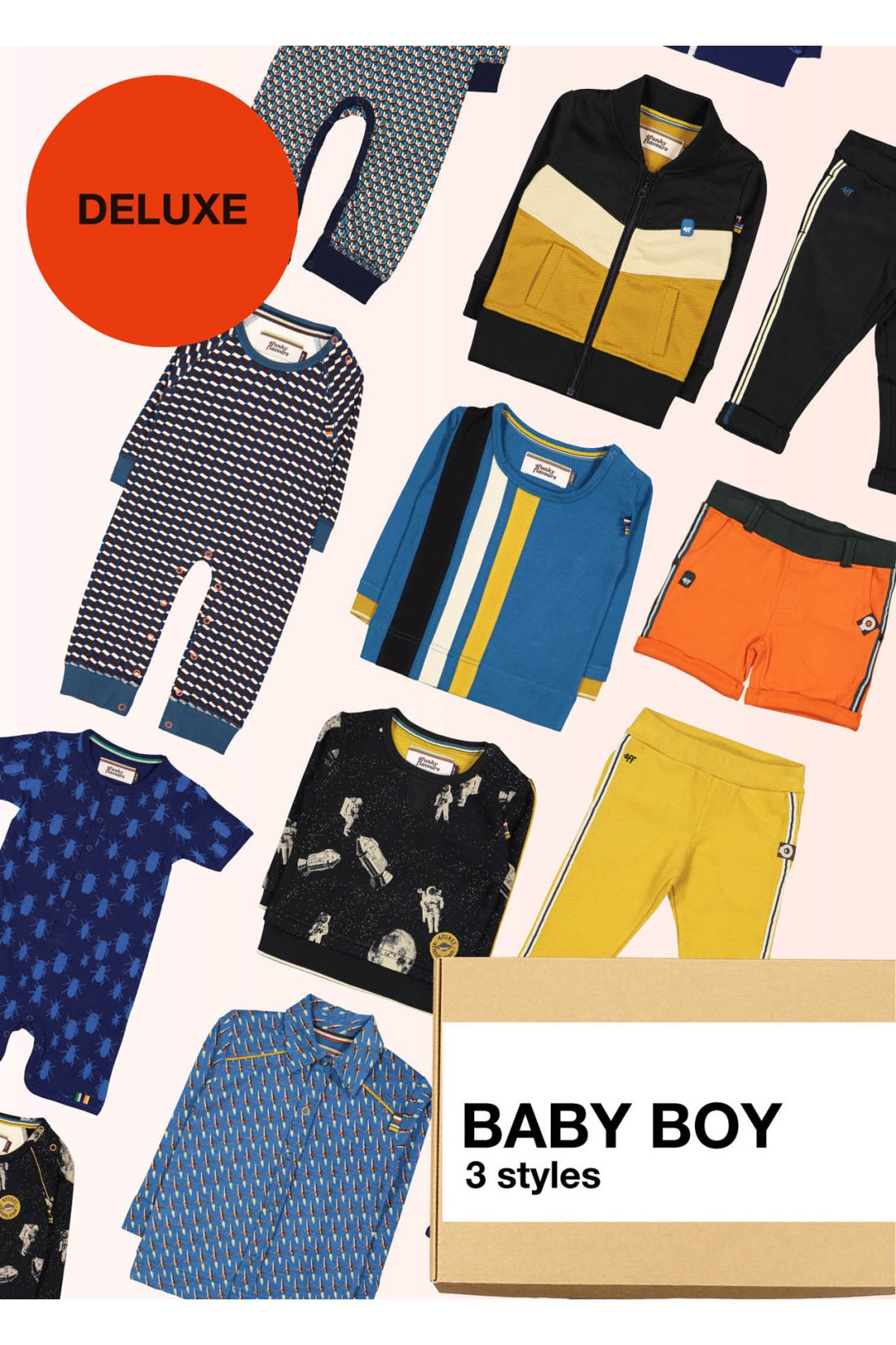 Surprise Box Baby Boy Deluxe - 3 Styles
