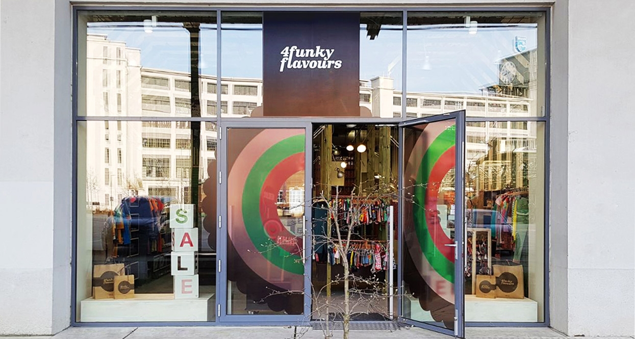 4funkyflavours Sample store Eindhoven