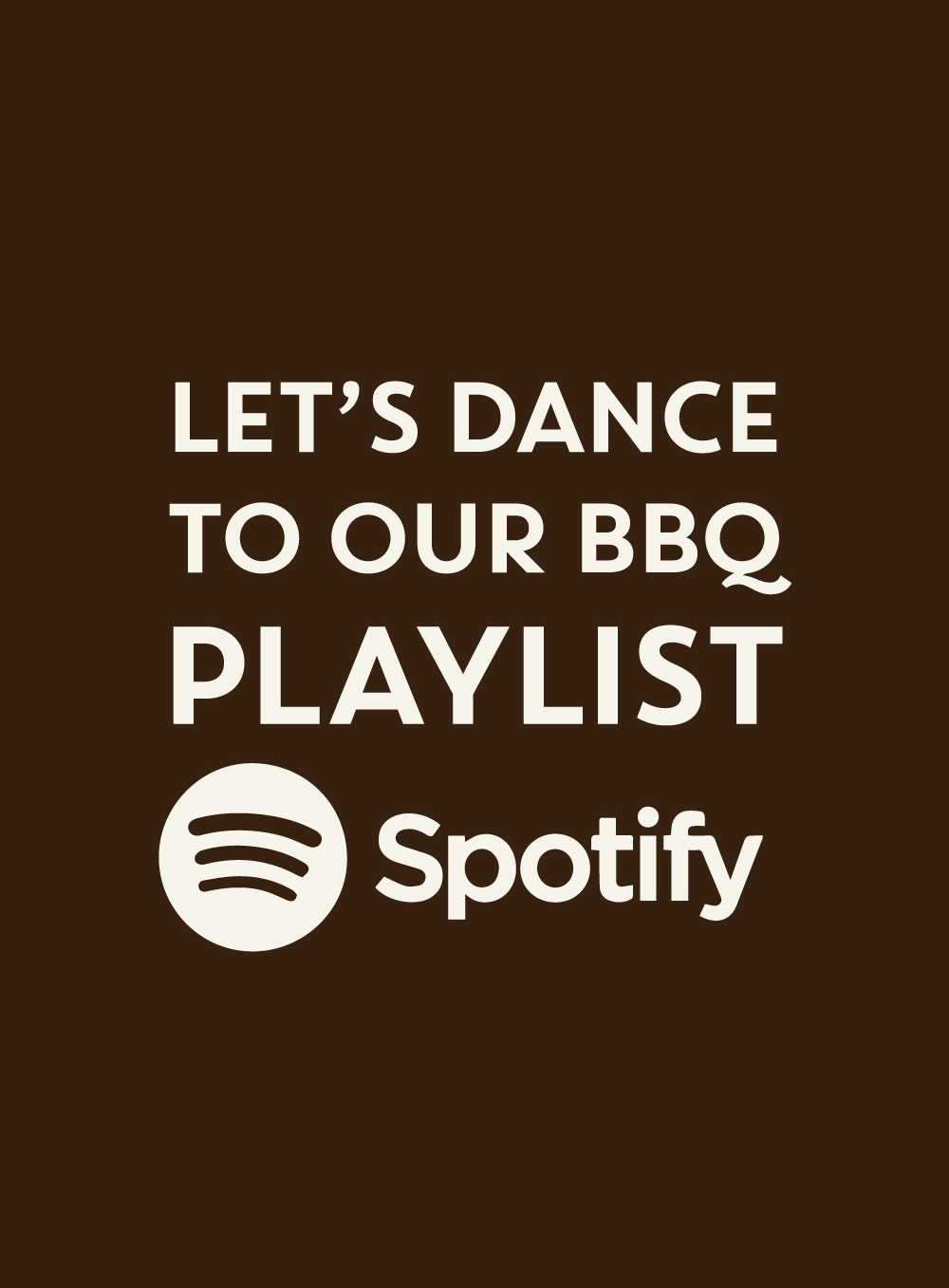 BBQ Party - Spotify Playlist