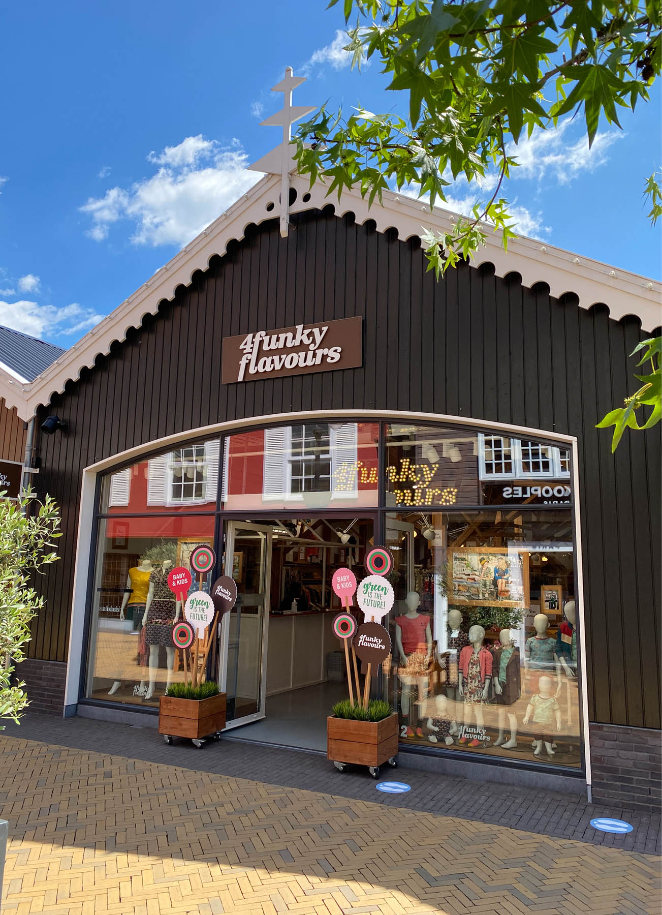4funkyflavours Designer Outlet Roosendaal