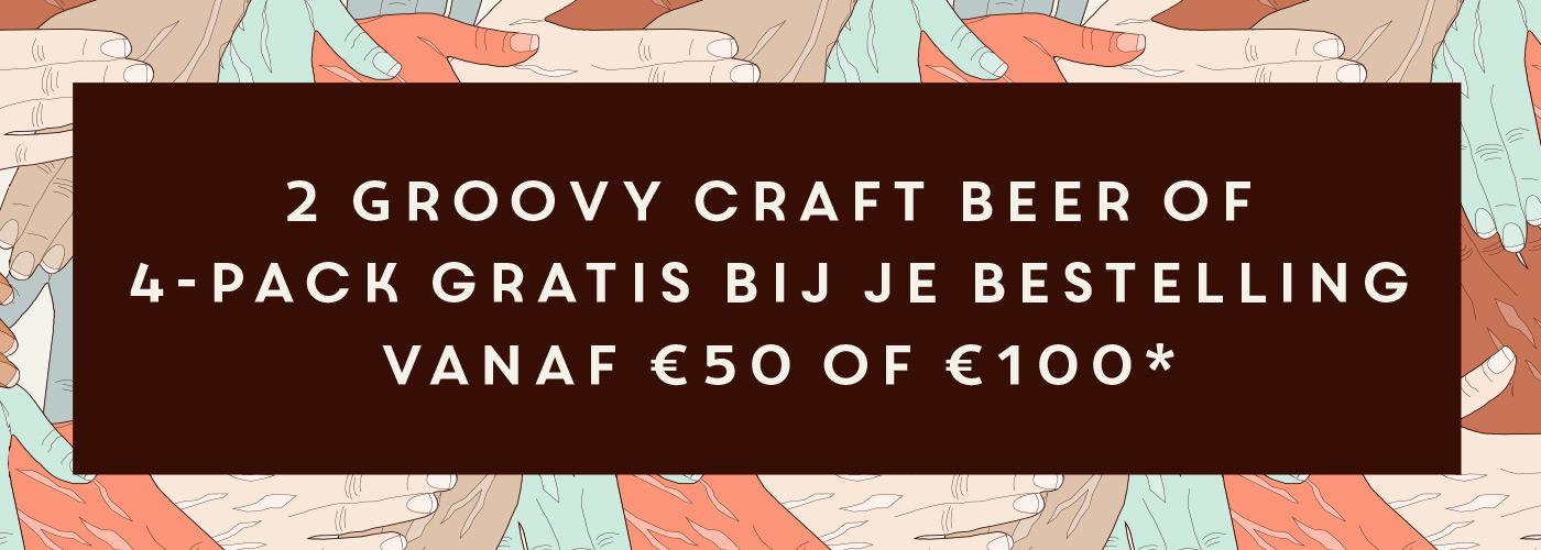 Gratis craft bier bij je bestelling vanaf € 50
