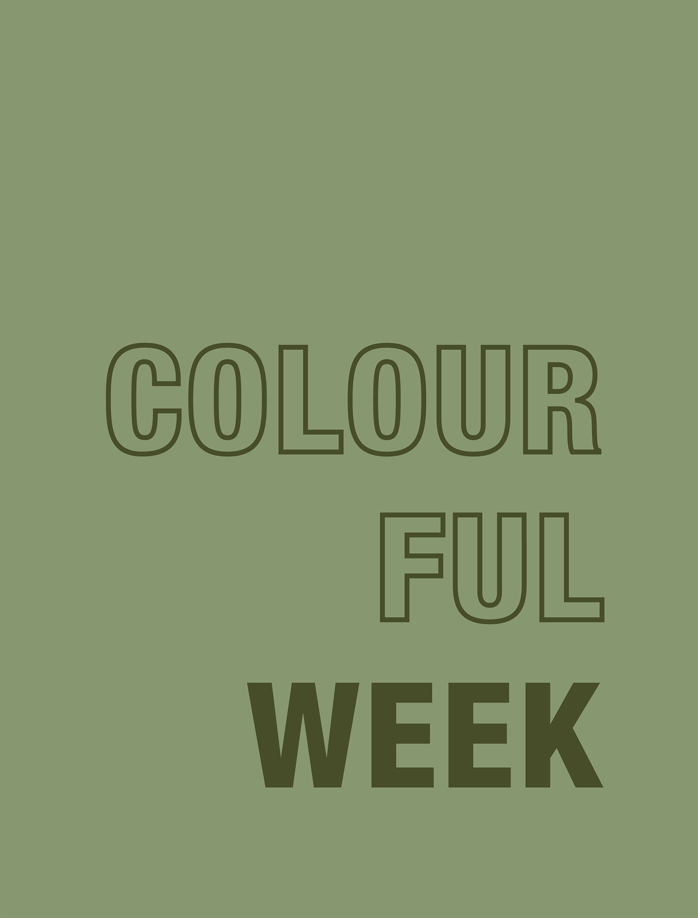Colourful Week