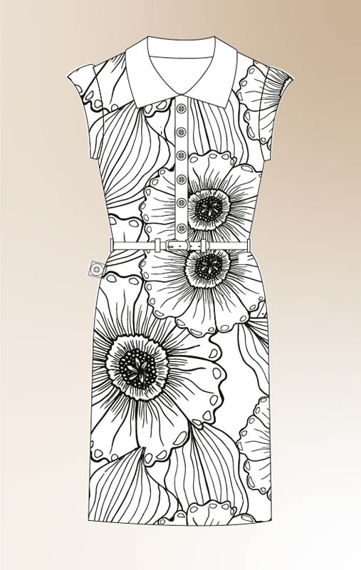 Colour It Yourself - Colouring picture 7