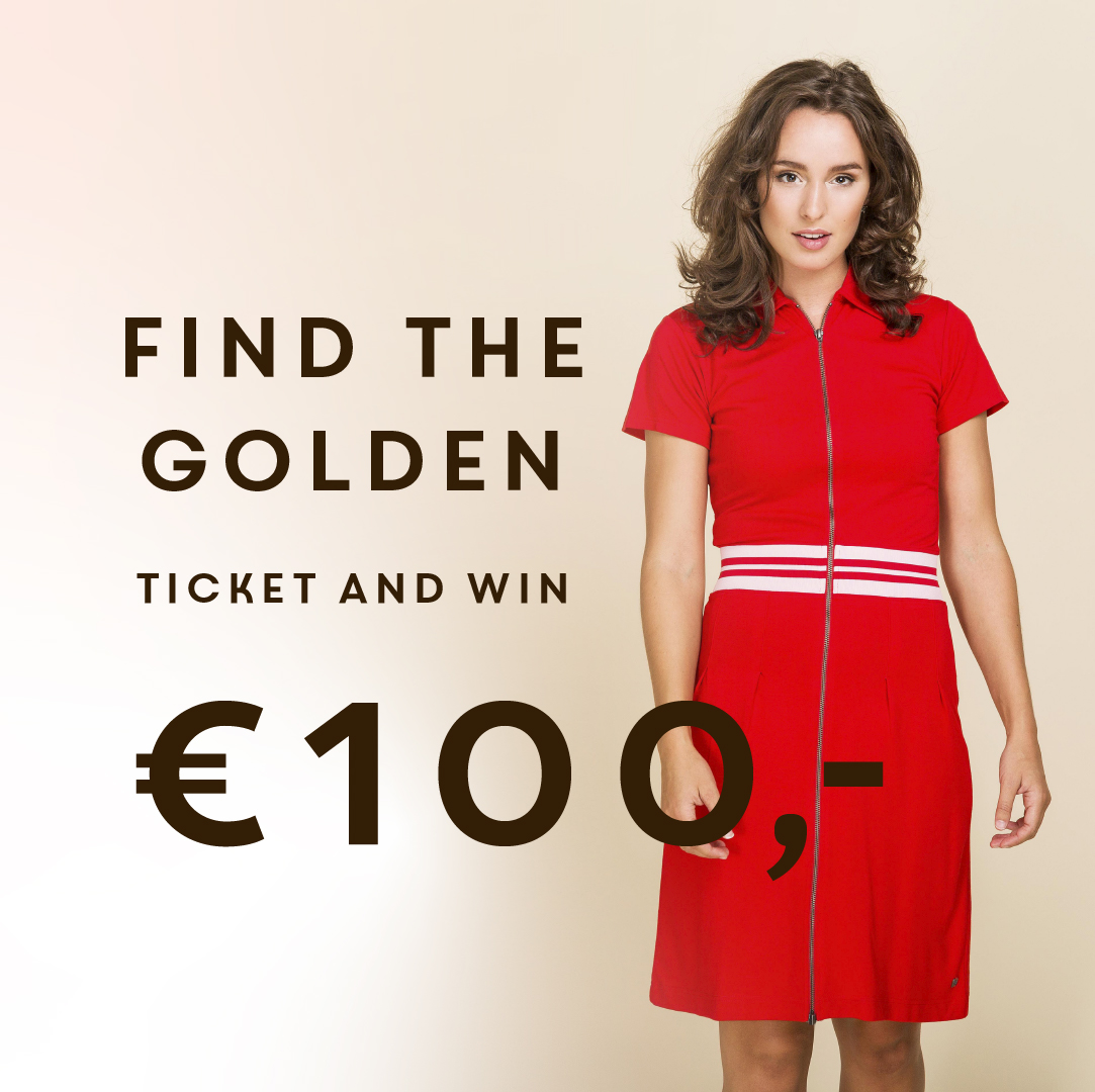 Win 1 van de 10 Golden Tickets