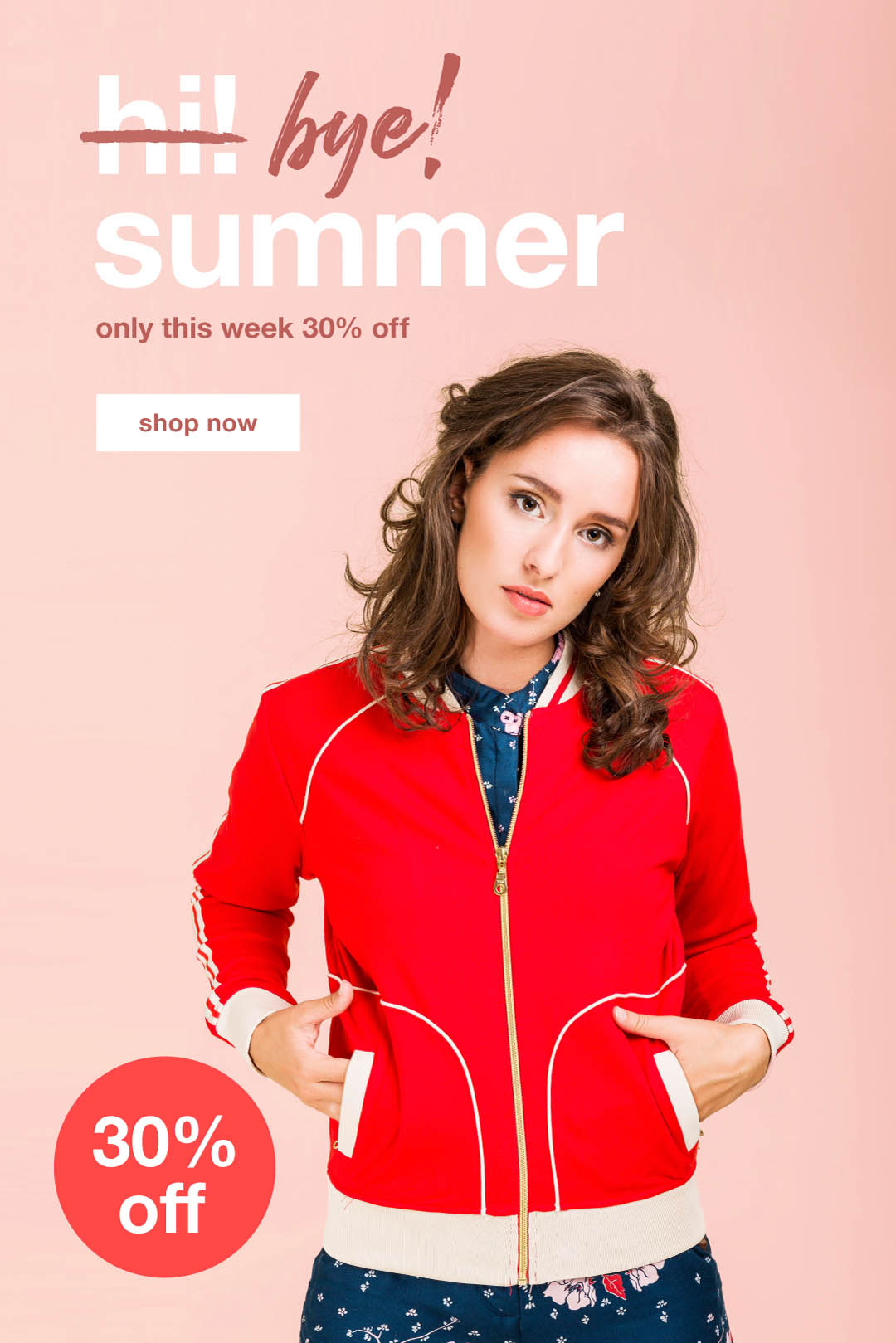 30% off - hi! summer