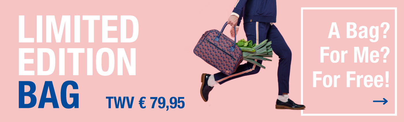 Gratis Limited Edition Bag vanaf € 300