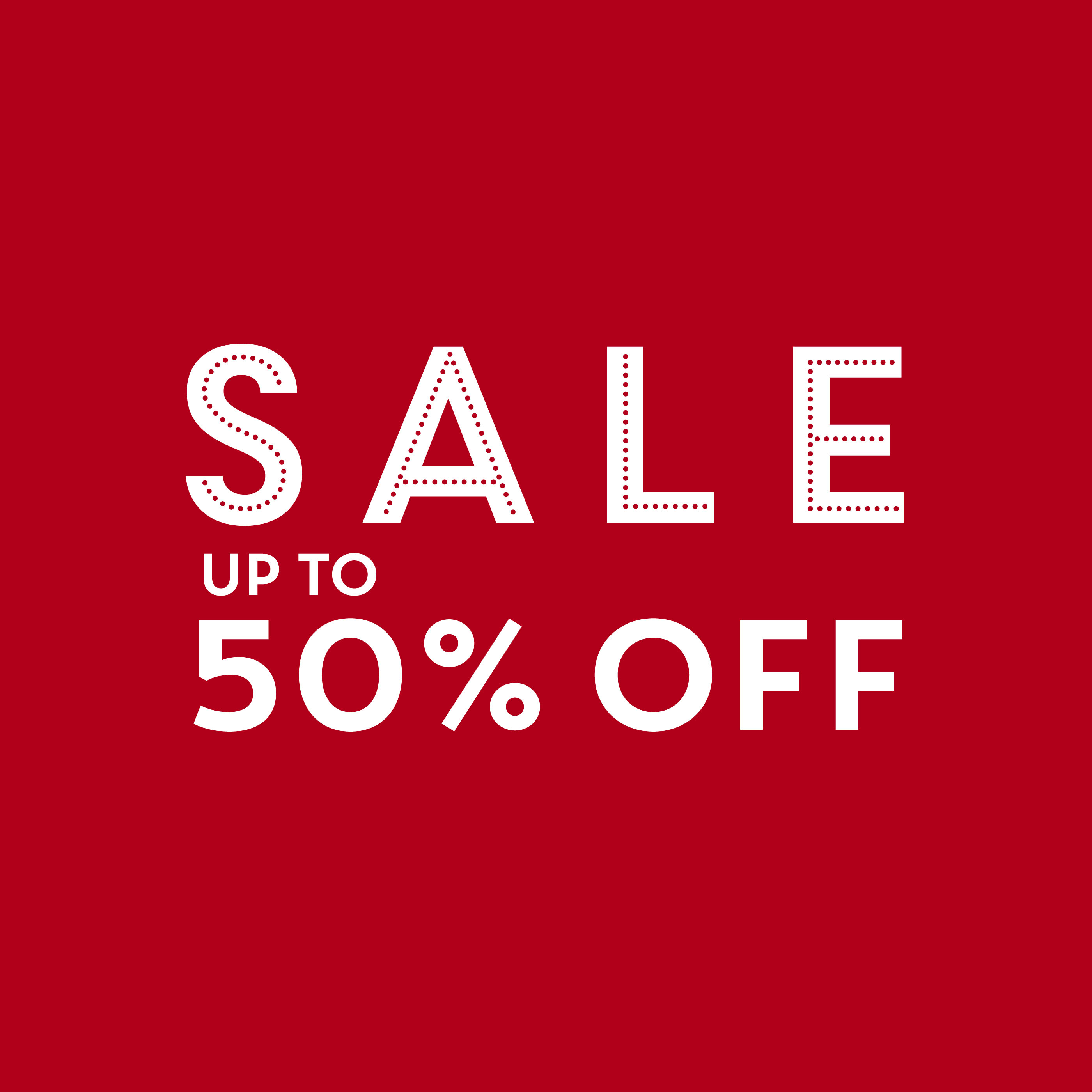 Sale up to 40% off!