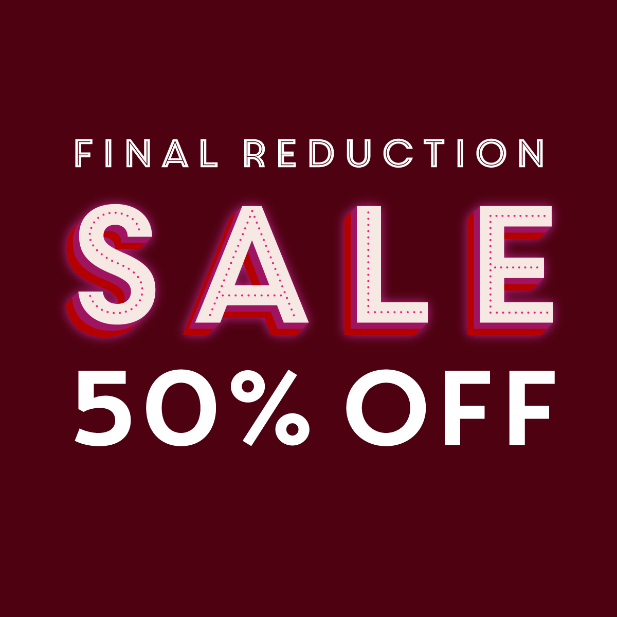 50% Summer Sale