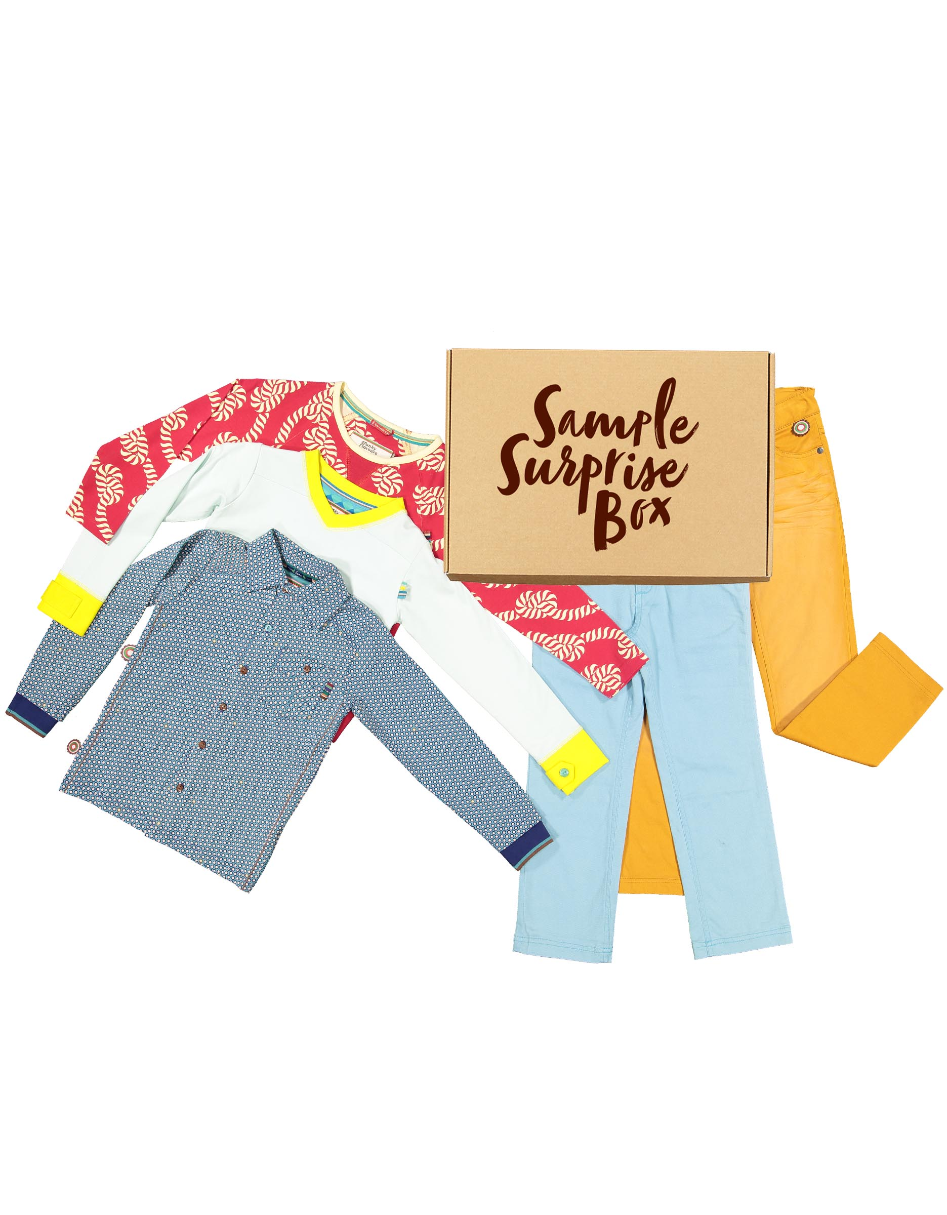 Sample surprise box