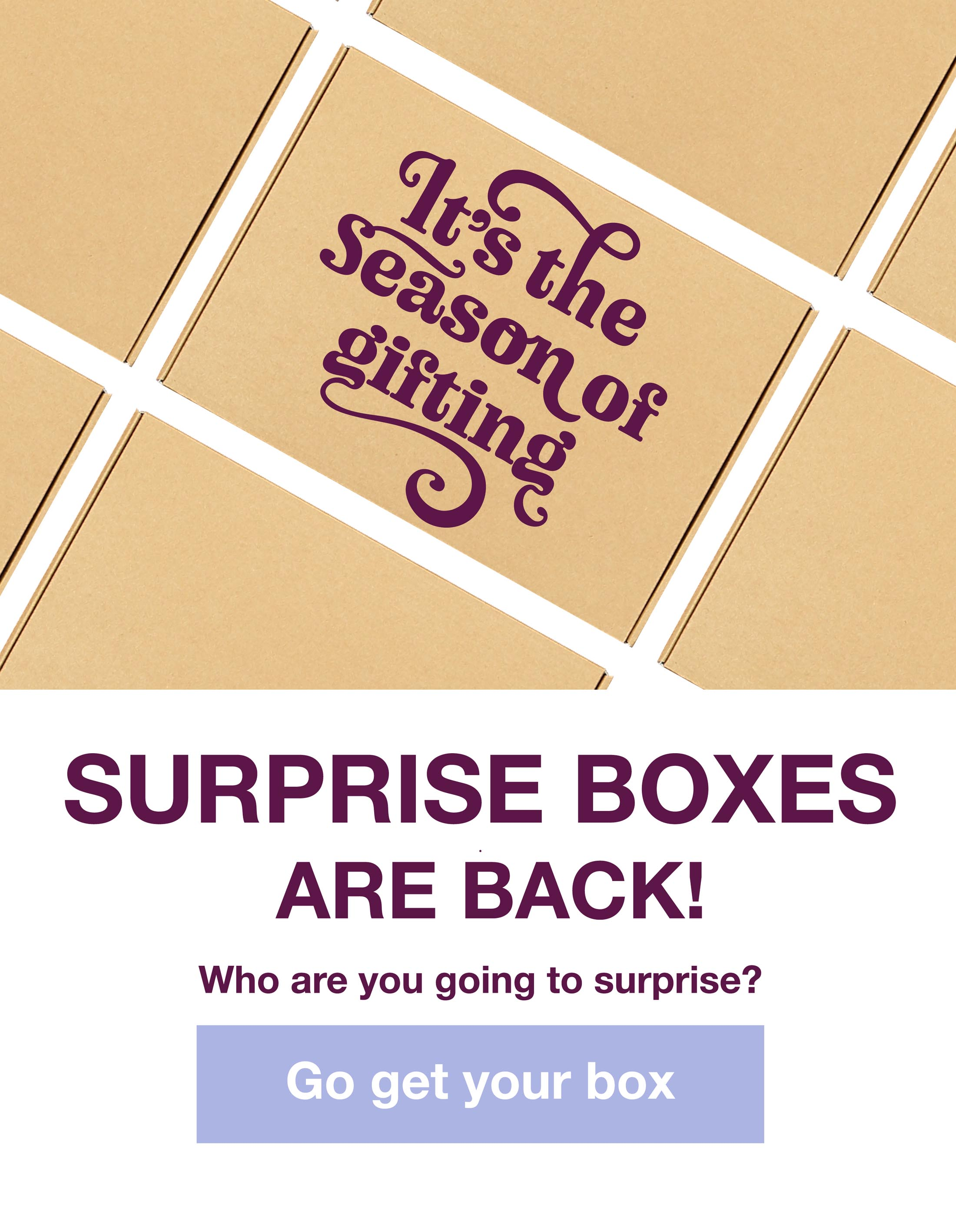 Surprise boxes are back!
