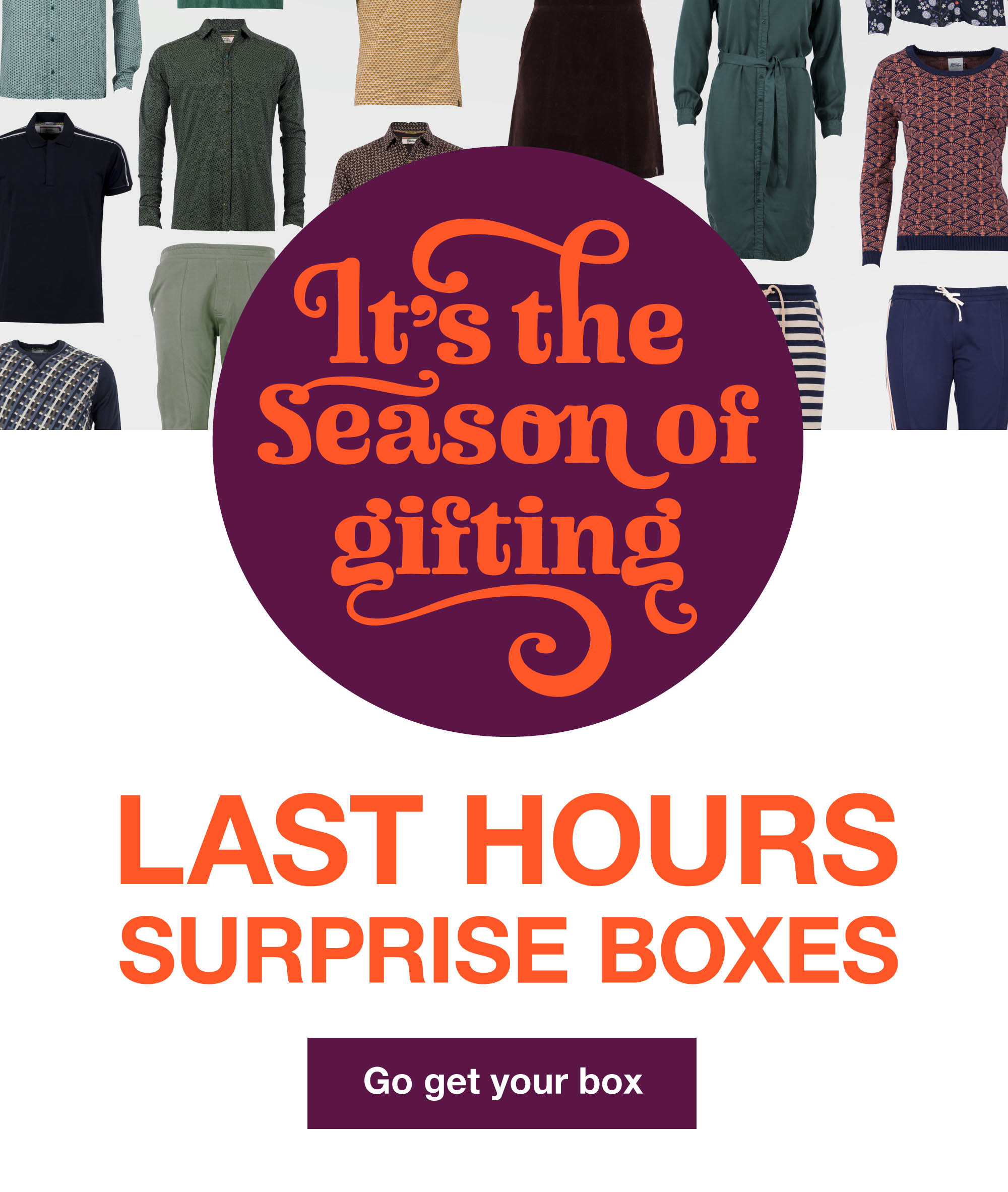 Surprise boxes last hours!