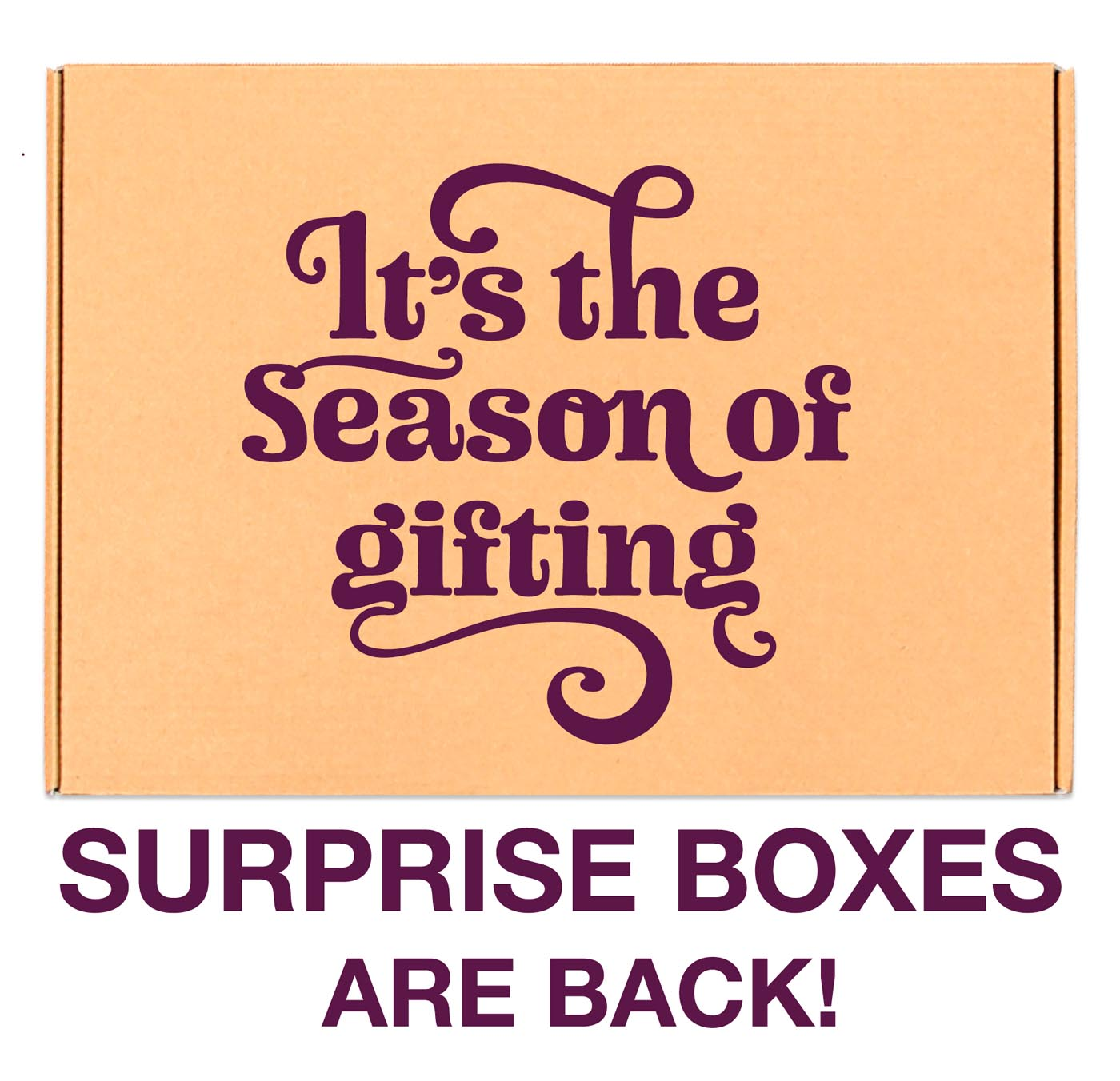 Surprise boxes are back